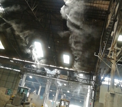 三水阳光陶瓷原料仓现场效果图片2