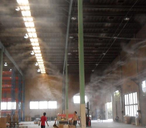 工厂微雾除尘