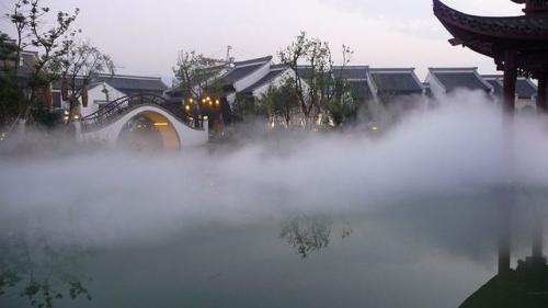 喷雾降温成套设备的特点